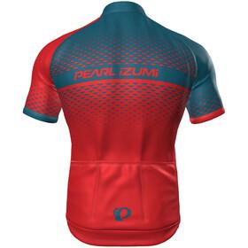 PEARL iZUMi Select Escape LTD Fietsshirt korte mouwen Heren rood/blauw